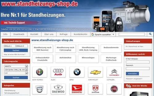 standheizungs shop